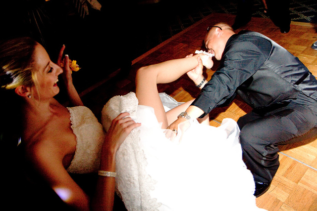 According The Lizzie Post Having Groom Remove Brides Garter Belt With His Teeth Is Tacky Photo Barry Lenard Compfight Creative Commons