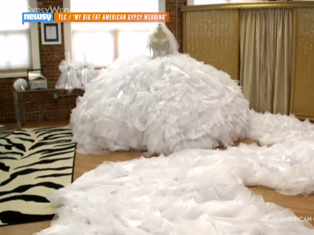 See The Huge Dress That Made \'Big Fat Gypsy Wedding\' History - Newsy ...