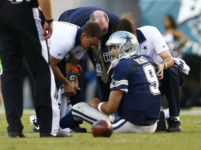 Ouch. Injuries Force A New Look To Dallas Cowboys Offense