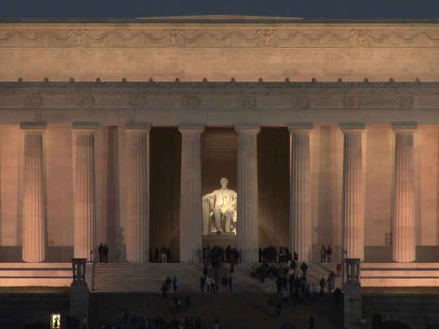 happy birthday  president lincoln  memorial to get  18 5m