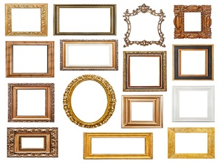 Wait! Don't throw away that old pcture frame