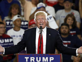 Tump thanks ND voters for putting him 'over top'