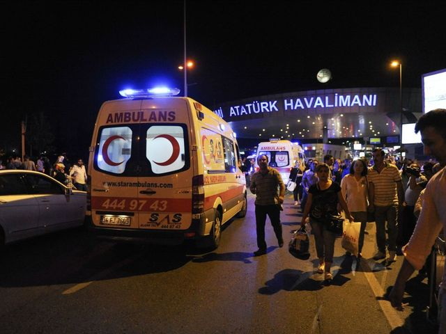 Suicide Bombers Kill More Than 30 At Istanbul's Ataturk Airport