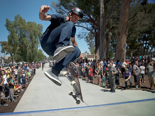 Tony Hawk recreates magical skate trick