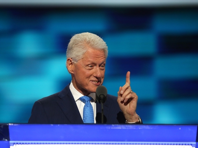 Bill Clinton's DNC Speech: A Love Story And A Resume Reading