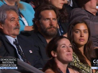 Bradley Cooper fans shocked to see actor at DNC