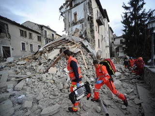 Central Italy struck by 6.2-magnitude earthquake