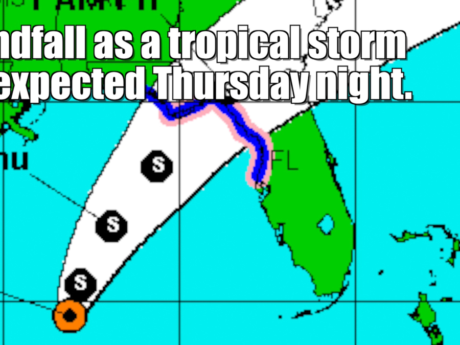 Tropical Depression 9 is already flooding Florida