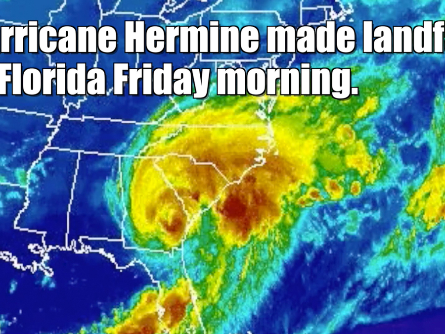 Hurricane Hermine ended Florida's dry spell