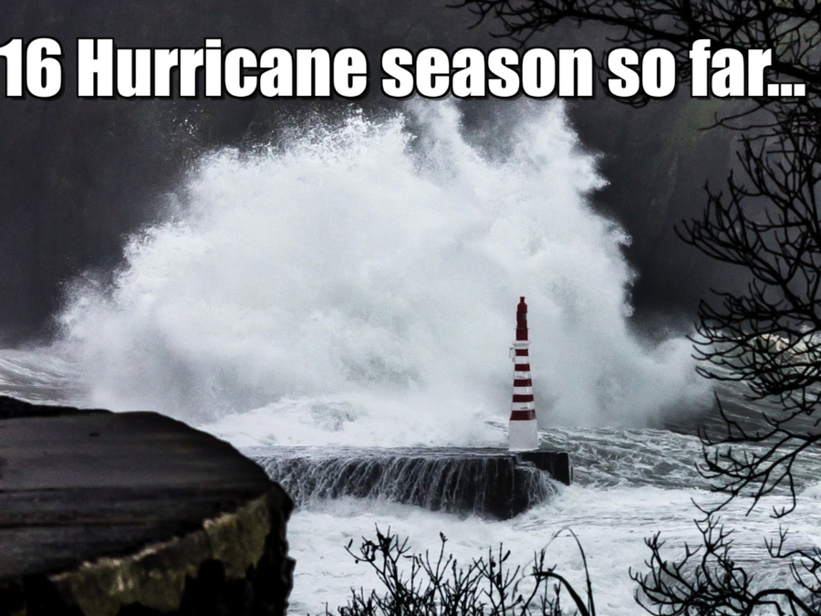 2016 Atlantic Hurricane Season so far...