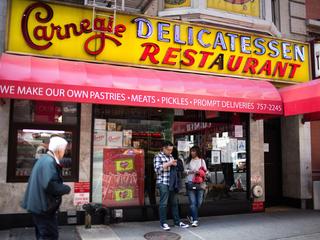 Iconic N.Y. eatery Carnegie Deli closing