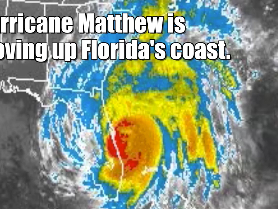 Hurricane Matthew so far...