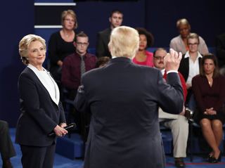 Debate 3 - Live updates of Trump v Clinton
