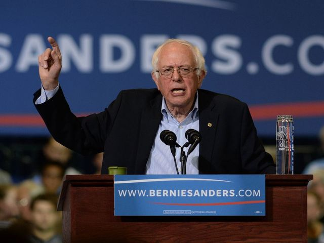 Google Searches Show Some Sanders Voters Are Still Feeling The Bern