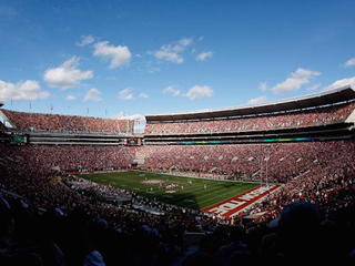 Fans forced to 'hold it' at Alabama/A&M game