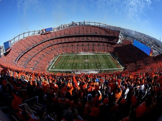 Fan falls, dies while leaving Broncos game