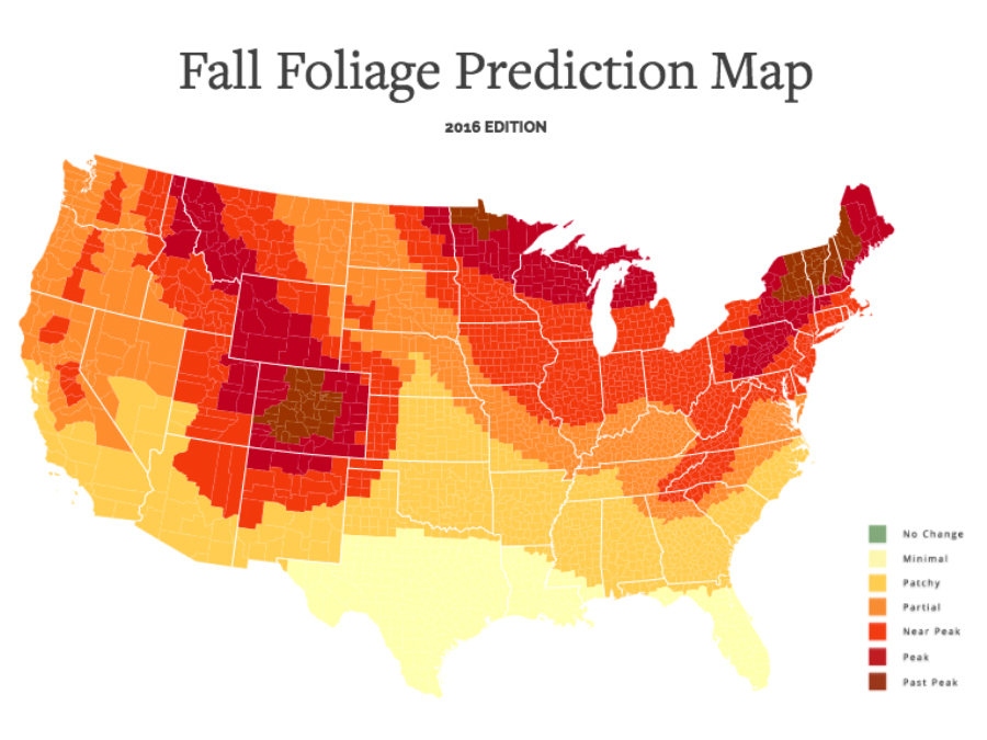 Peak Leaf Colors U2014 And Where To See Them