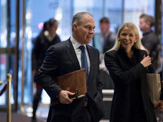 Trump picks Scott Pruitt to head EPA