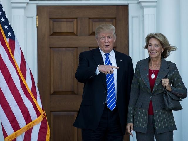 Public School Teachers Oppose Trump's Pick For Education Secretary