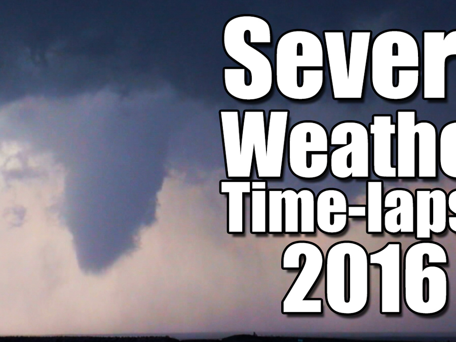 Time-lapse: 2016 Severe Weather Reports