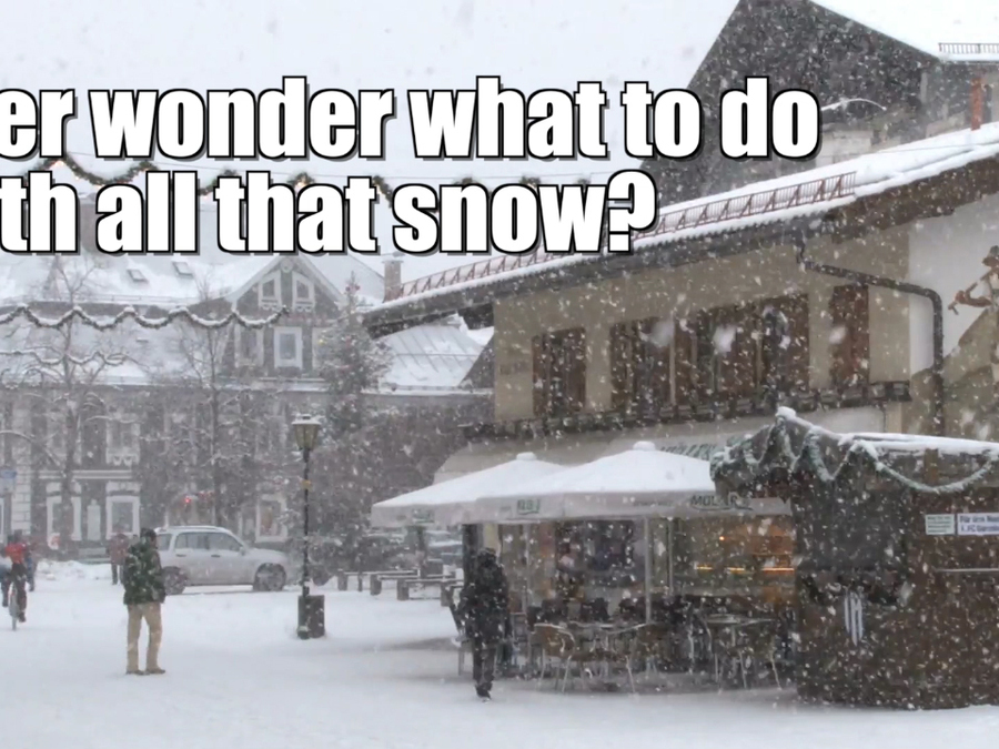 What to do in the snow?