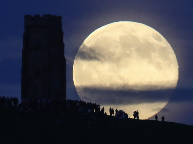 Why is January's full moon known as the full wolf moon?