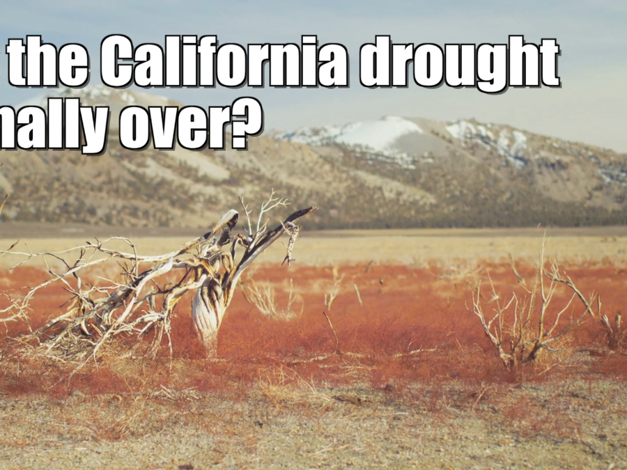 Did the California drought just end?