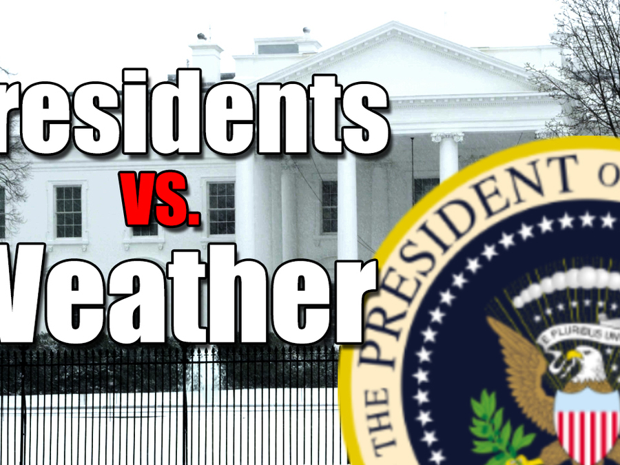 Presidents vs. Weather