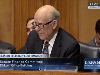 Roberts in tense exchange during Senate hearing
