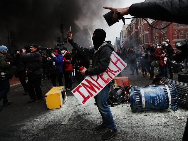 More Than 200 Protesters Will Face Felony Charges In D.C.