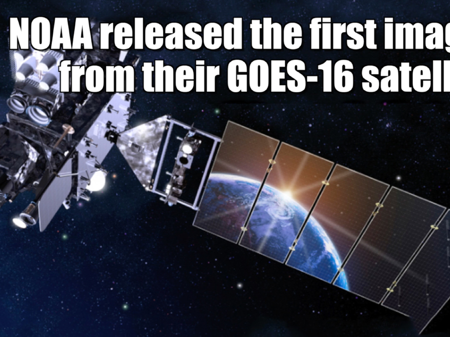 GOES-16, new weather satellite's first images