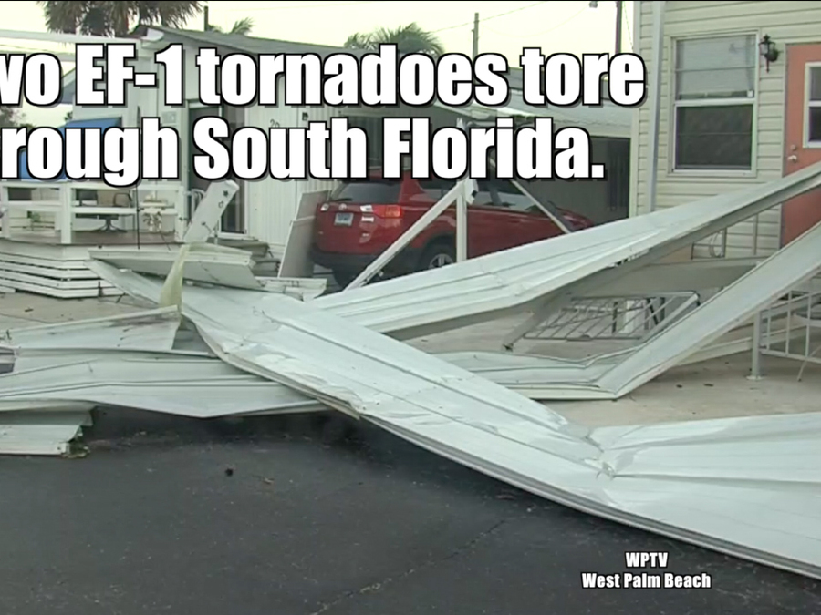 South Florida tornadoes — January 2017