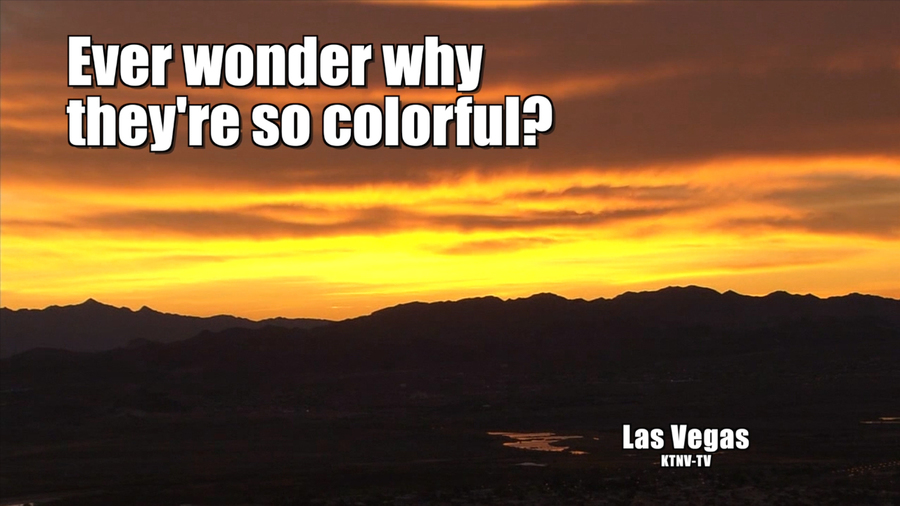 Why sunrises are so colorful