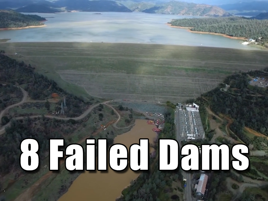 8 Dams that failed