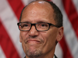 Democrats elect Tom Perez to lead party