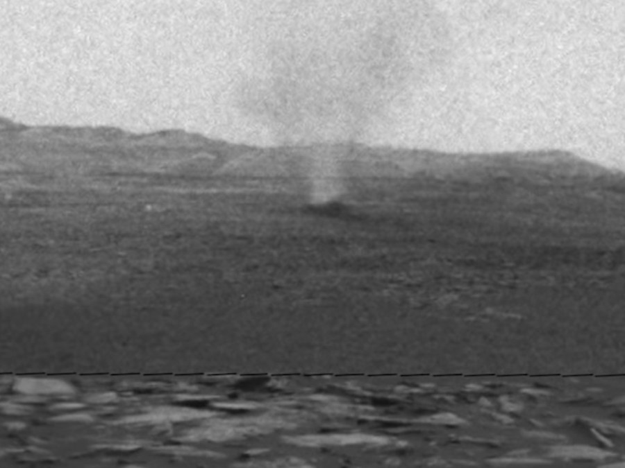 NASA-s Curiosity Rover finds dust devils