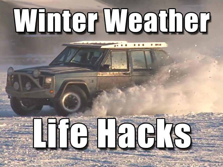 5 Winter Weather Life Hacks