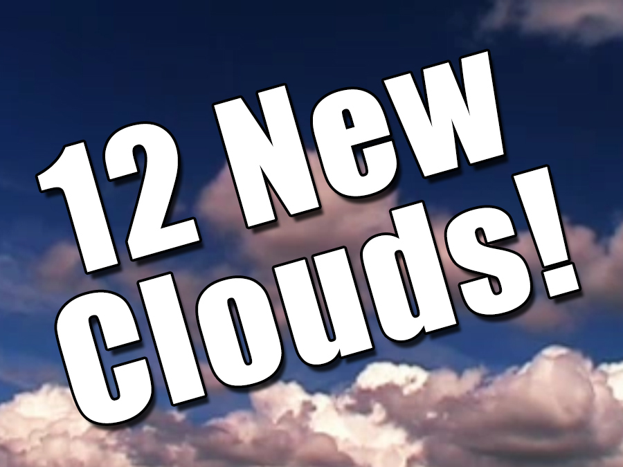 New clouds named in the Cloud Atlas