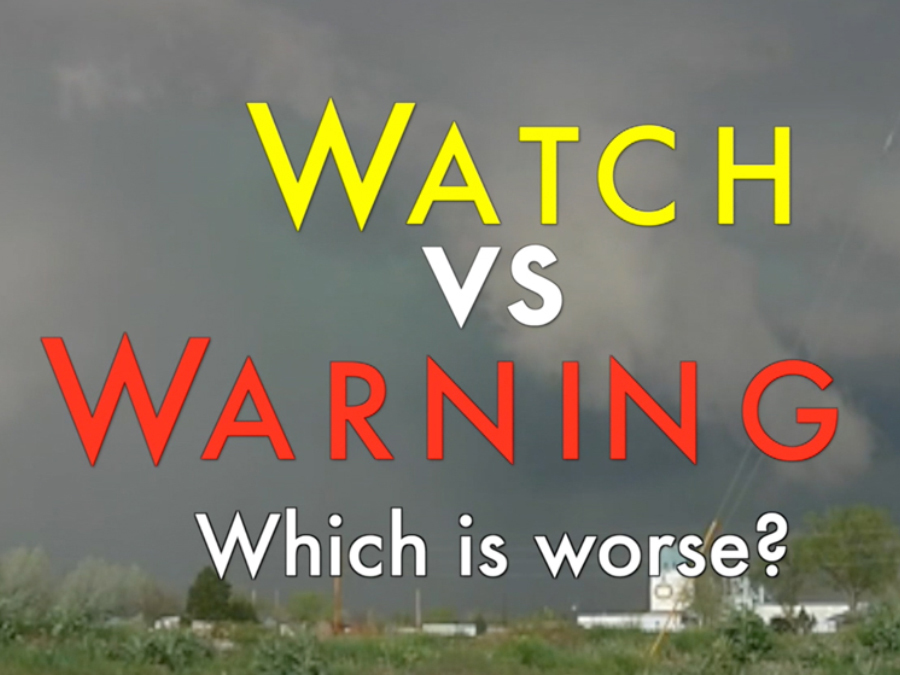Watch VS Warning - What-s the difference-