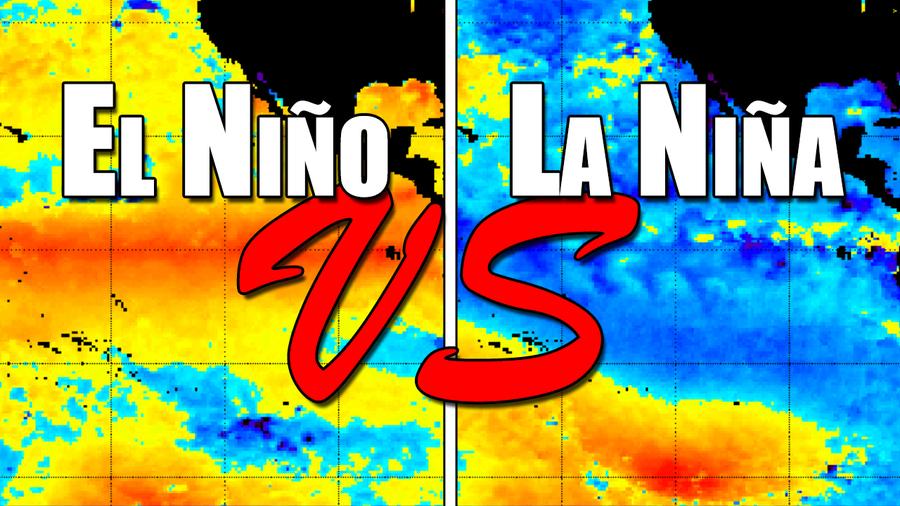 El Ni-o vs La Ni-a