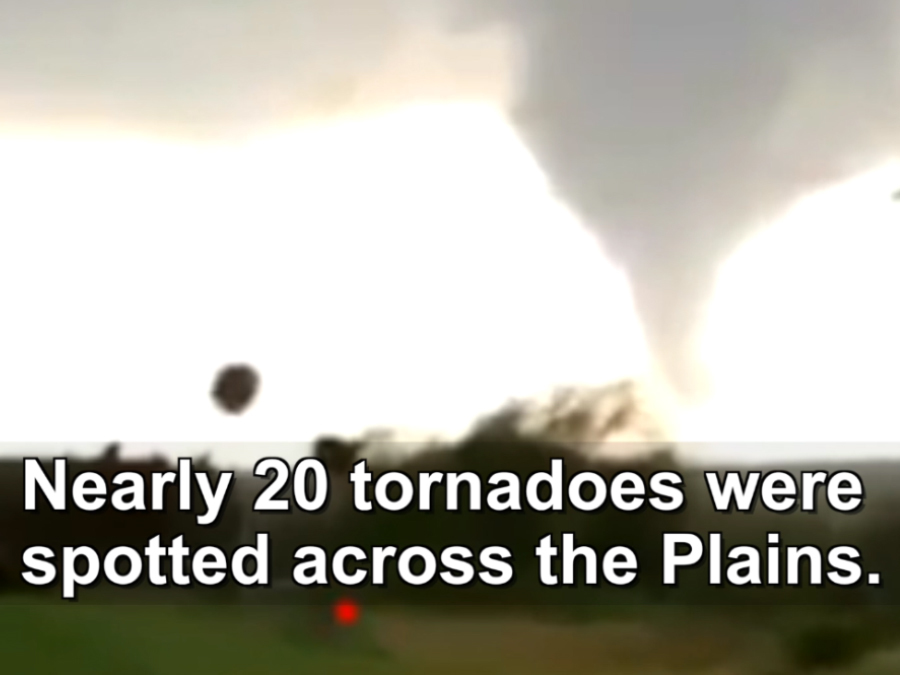 Tornadoes across the Plains
