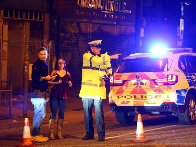 Explosion At Manchester Arena Leaves Multiple People Dead