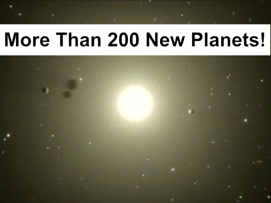 NASA finds 200 more possible planets- 10 could support life
