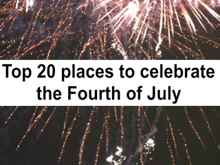 Best places to celebrate the Fourth of July