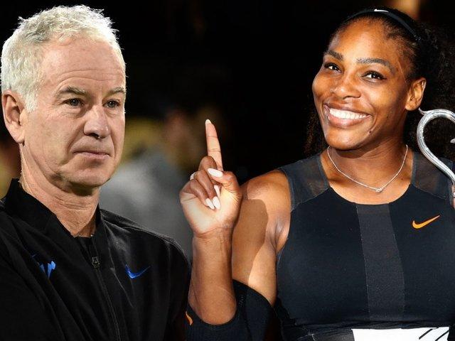 John McEn-No: Tennis Star Stands By Serena Williams Slight