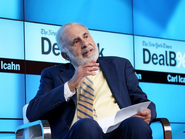 Carl Icahn Pulls Out Of Role As Special Adviser To The President