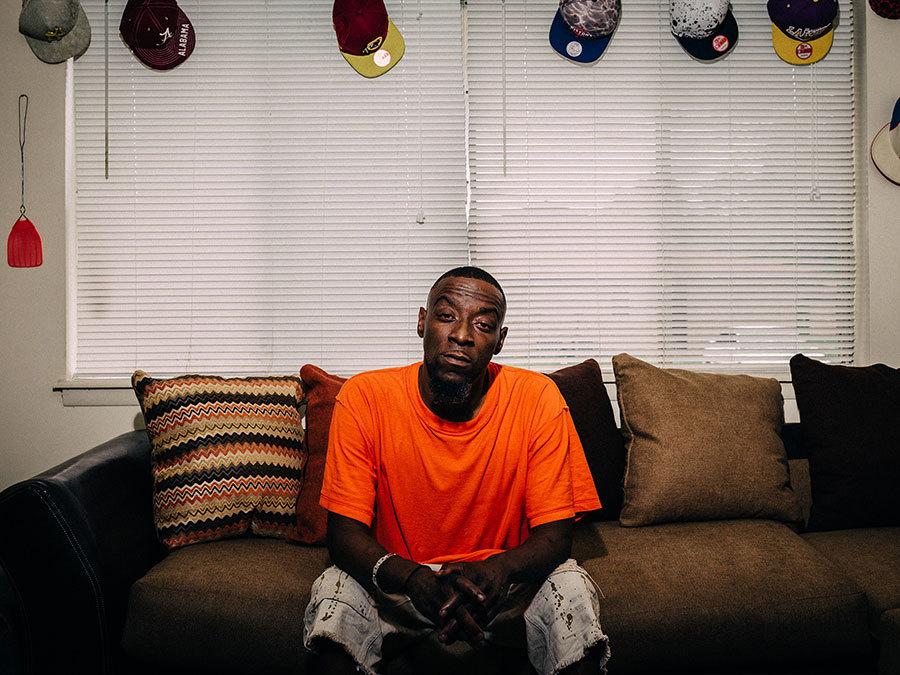 Demetrius Holmes, Photo: Michael M. Santiago/News21