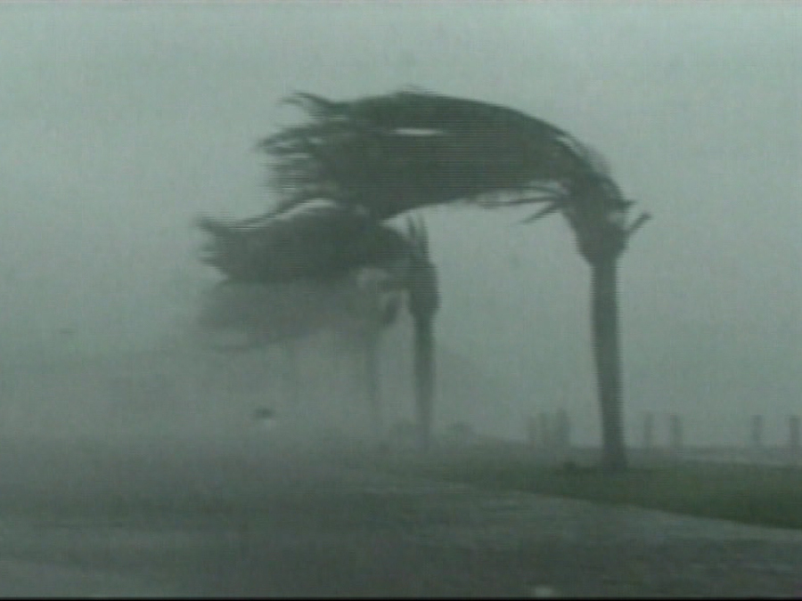 Top 5 hurricanes with the strongest wind speeds