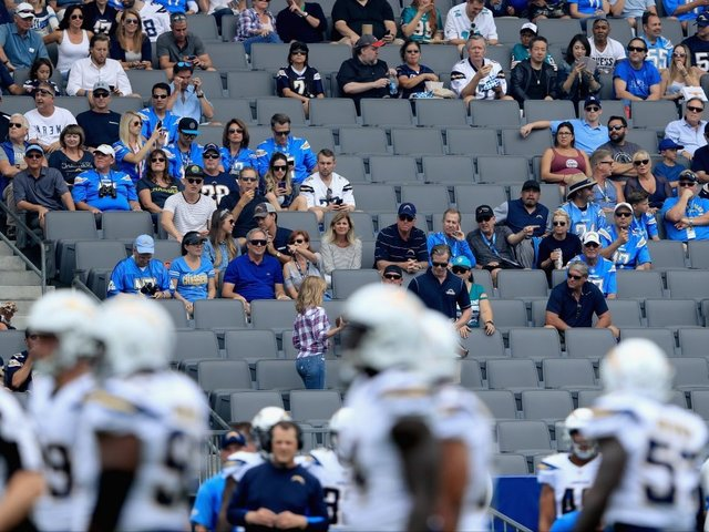 Here's How Bad The Los Angeles Chargers' Attendance Really Was