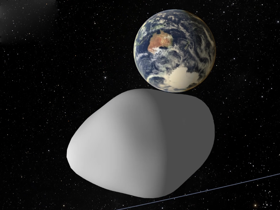 Asteroid flying by will come closer to Earth than the moon